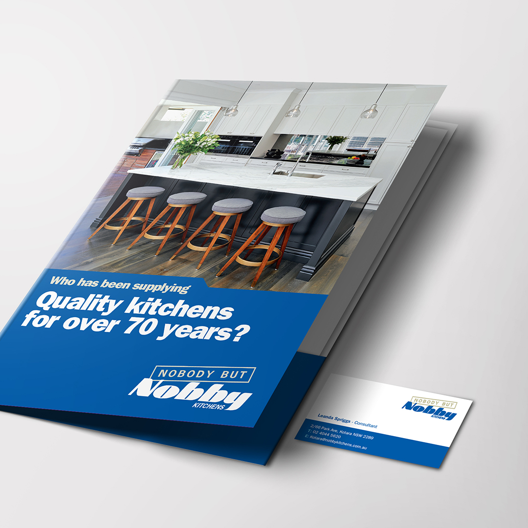 Nobby Kitchens Presentation Folder and BC