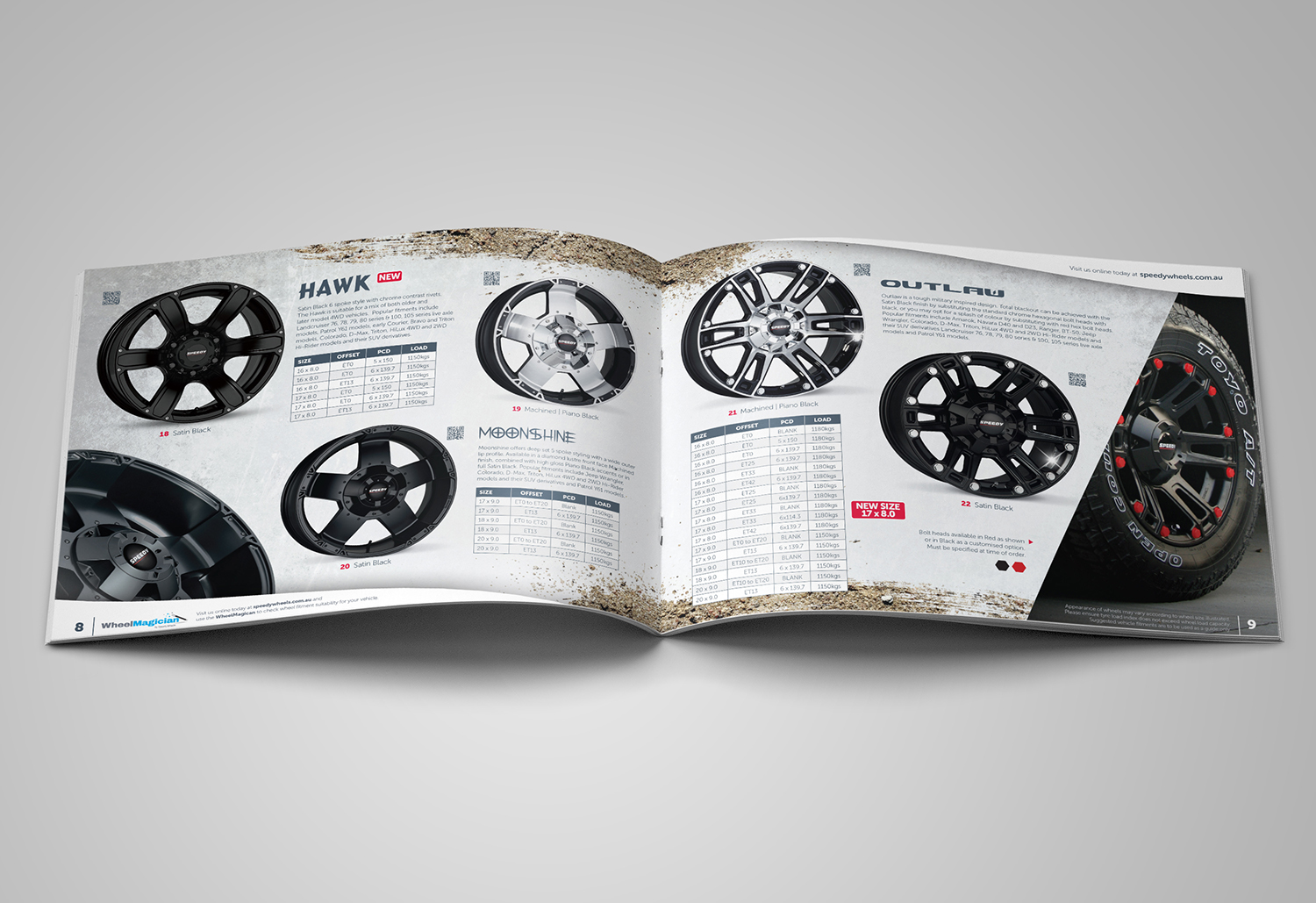 speedy wheels brochure 4wd 2017